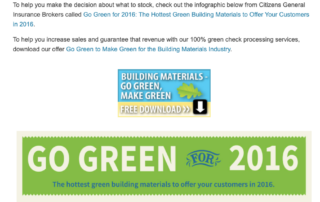 How to Increase Green Building Materials Sales [Infographic] - Maria Tzouvelekis